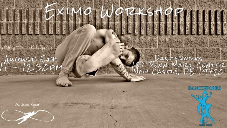 Danceworks Workshop Flyer