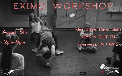 Matt Blevins Workshop Flyer