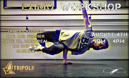 Tripoli Workshop flyer