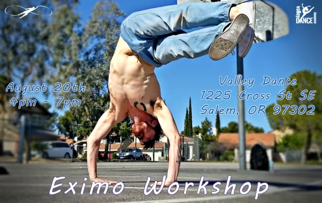Valley Dance Workshop Flyer